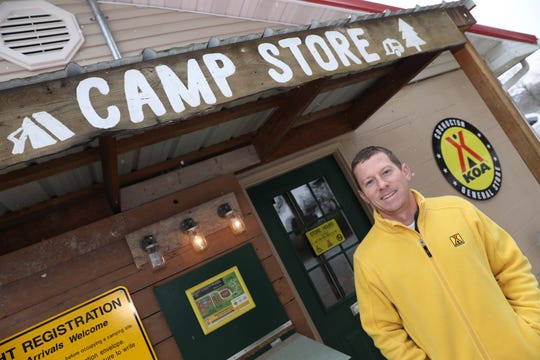 After a career as a geologist, Ryan McPeek, purchased the Coshocton KOA Campground with his wife Camille in 2013.