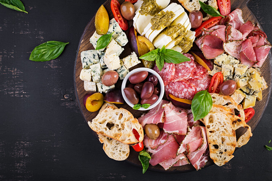 The cheesemonger at your market can help make the best charcuterie choices for your event.