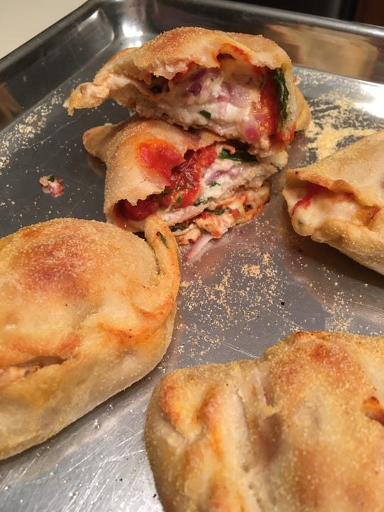 Three Cheese Pizza Pockets take on a healthy twist.