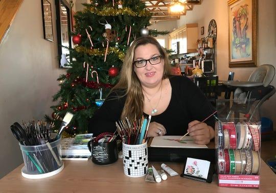 Jennifer Baghdoian poses in her home, Wednesday, Dec. 19, 2019.