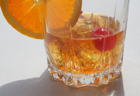 A New Old Fashioned is one of our signature cocktails, photographed on Wednesday, Aug. 7, 2019, at the St. Louis Post-Dispatch.