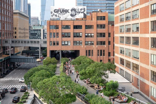 The High Line, on a former elevated rail line on Manhattan's West Side, is now a landmark park, celebrating its 10th anniversary. The park is full of ideas for gardeners everywhere. It is one of New York City's most visited sites.