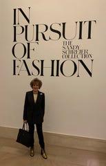 Sandy Schreier at the Metropolitan Museum Tuesday.
