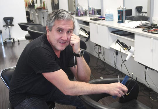 Dmitriy Pomogalov, owner Aria Salon in Grosse Pointe Woods is an alum of the Capuchins rehab program called Jefferson House and a long-term success story for the free program.