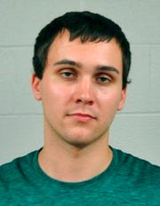 This undated file photo provided by the University of Maryland Police Department shows Sean Urbanski. A jury is set to hear attorneys' closing arguments in the trial of Urbanski who is charged with murder for fatally stabbing a black college student at a bus stop on the University of Maryland's campus.
