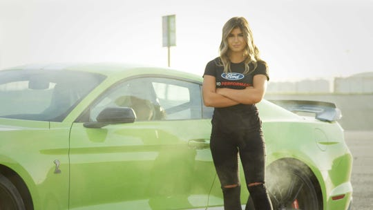 Hailie Deegan will race full-time for Ford in the ARCA oval series in 2020 while also gaining road course experience in an IMSA Michelin Pilot Challenge Mustang GT4.