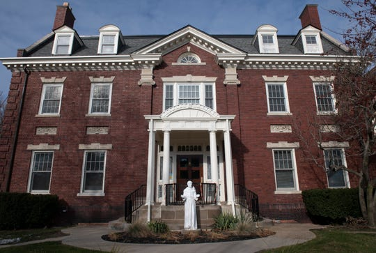Jefferson House is a Capuchin drug and alcohol rehab program run by program manager Amy Kinner. It's a 6-to-9-month free residential treatment program for 12 people who live together in this stately old mansion on Jefferson Avenue in Detroit.