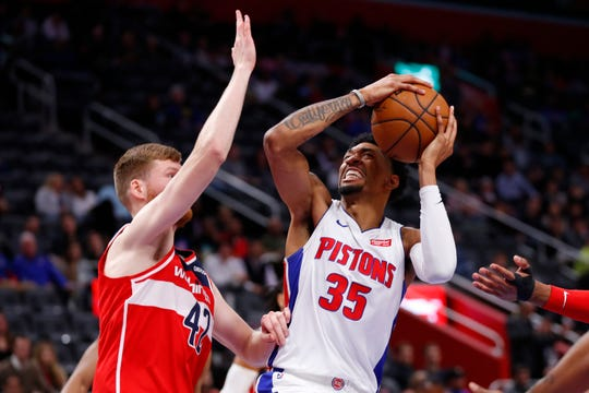The Pistons' loss to the Wizards Tuesday  was their latest to a team below them in the standings.