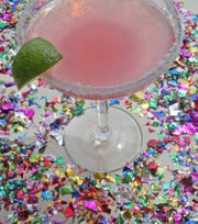 A Rose Margarita is one of our signature cocktails, photographed on Wednesday, Aug. 7, 2019, at the St. Louis Post-Dispatch. (J.B. Forbes/St. Louis Post-Dispatch/TNS)