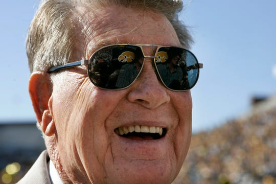 Hayden Fry, the Texan who revived Iowa football and became a Hawkeye State institution, has died. He was 90.