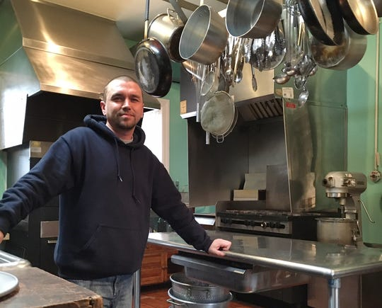Sword, 38, did a lot of the cooking during the eight months of treatment in the free Capuchin-sponsored program.
