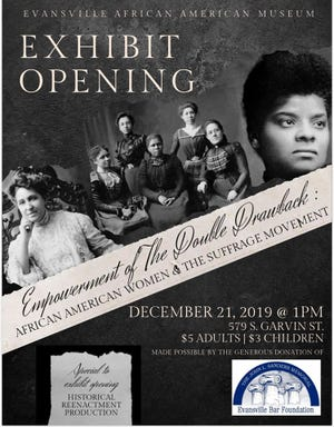 Empowerment of the Double Drawback exhibit opens at the Evansville African American Museum Saturday.