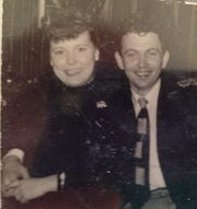 Lotte and Dave Phalen, circa 1950s, married in Hamburg, Germany, in 1954.