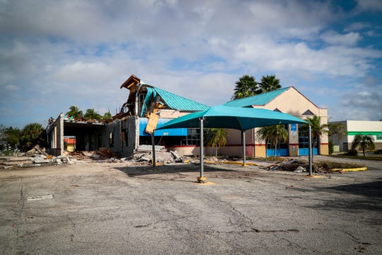 A look at Downtown Village Square, which has been talked about since 2006. Buildings are finally being demolished to make way for the commercial/residential development encompassing a city block off Cape Coral Parkway in south Cape Coral.