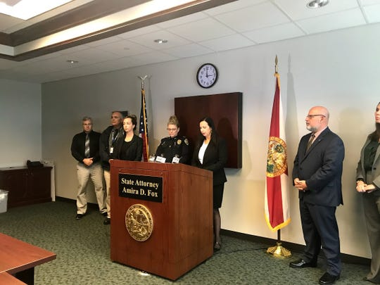 State Attorney Amira Fox announced the indictment of Ryan Patrick O'Leary and Sheila O'Leary on Wednesday, Dec. 18, 2019, for charges involving the death of their son and child abuse of other children.