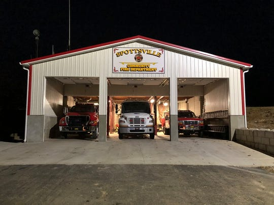 Renovated Spottsville Fire Department