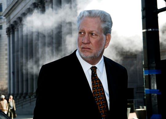 In this 2006 photo former Worldcom CEO Bernard Ebbers exits Manhattan federal court in New York.