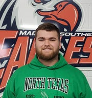 Madison Southern High School offensive lineman Dane Jackson.