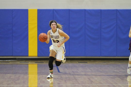 Ontario's Carleigh Pearson is among the MOAC leaders in points per game.