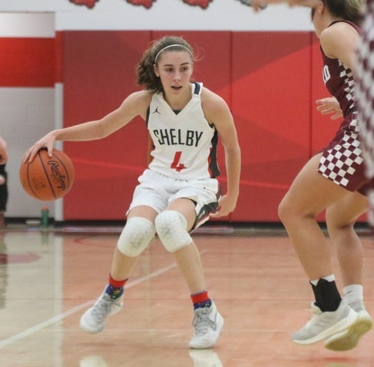 Shelby's Sophie Niese is the floor general for the 8-0 Lady Whippets.