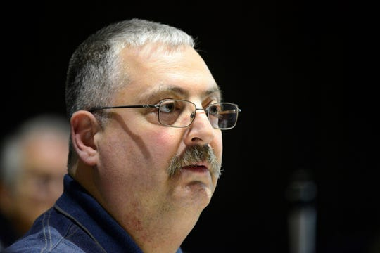 Jeff Rock, departing 2nd Ward councilman, voted against the salary increases on Tuesday.