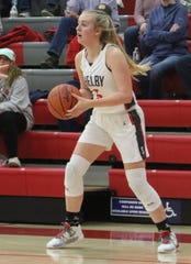 Shelby's Mallory Bishop is a main reason why the Lady Whippets are MOAC champs this season.
