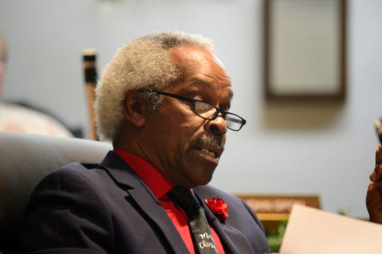 """Walden """"Butch"""" Jefferson, departing 4th Ward councilman, voted against the salary increases on Tuesday, saying the move came at a time when three city departments are understaffed."""