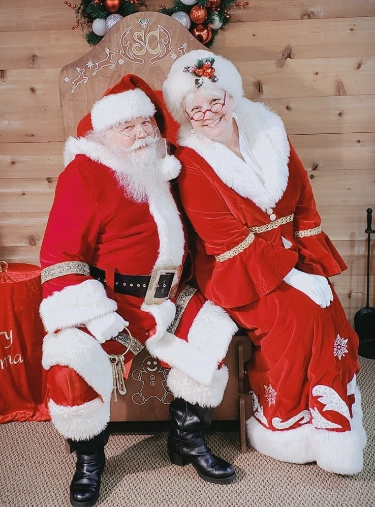 Santa S Wife Mrs Claus Christmas Characters Mike Greene 2019