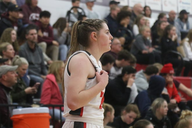 Shelby's Olivia Baker is itching to get back on the court, whenever that may be.