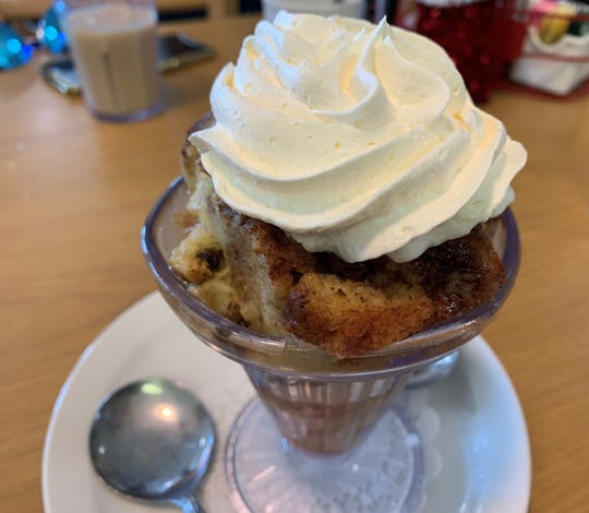 Bread pudding from Red Rooster, Marco Island.