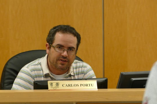 Carlos Portu, chairperson of Parks and Recreation Advisory Committee, said it has not been decided yet who will be the board members of the Marco Island Community Parks Foundation. In the picture, Portu speaks during a committee meeting on Dec. 17, 2019.
