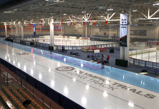 Many improvements have been made to the Pettit National Ice Center, which in 2018 hosted the US Olympic long-track speedskating trials.