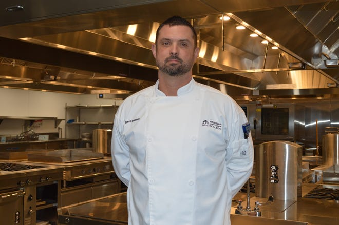 Army Veteran David Brown is in WCTC's culinary and hospitality management programs. Brown said cooking is therapeutic for him.