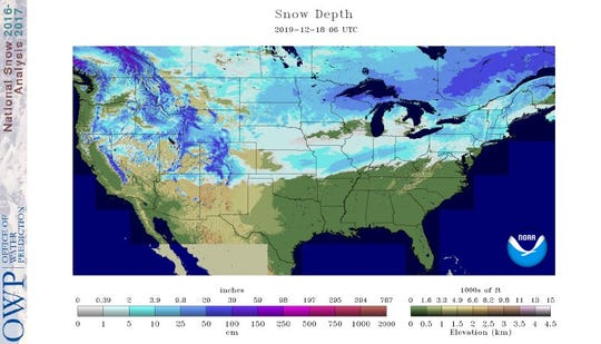 Southern Wisconsin is surrounded by areas with snow on the ground, but a white Christmas is all but out of the question for southern Wisconsin.