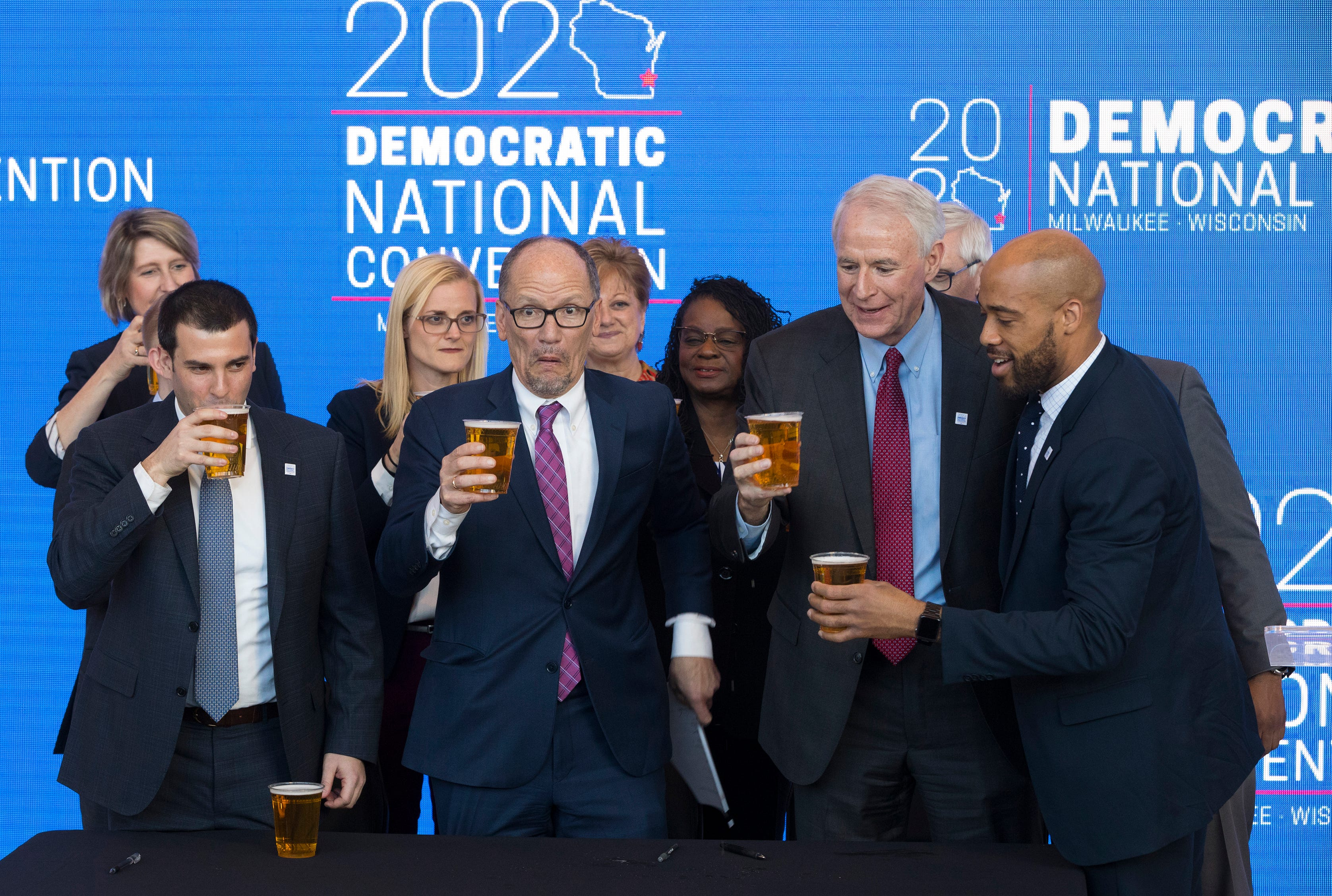 Organizers are scrambling to plan an unprecedented virtual gathering for the 2020 DNC