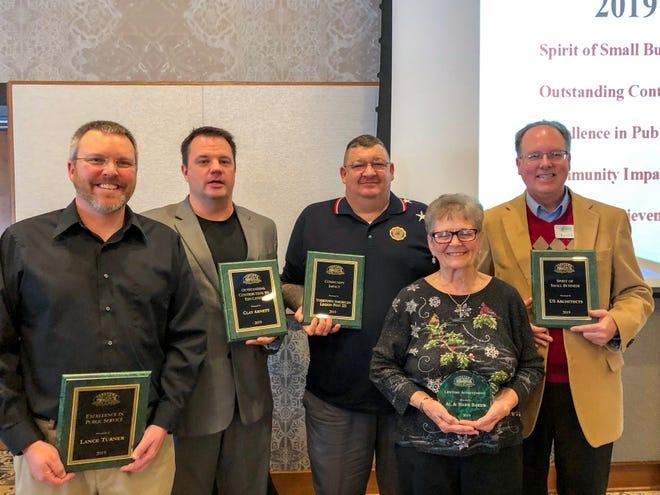 Yorktown Chamber of Commerce award winner for 2019.