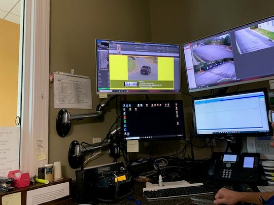 "Where Belle Meade dispatch personnel are alerted to a ""hit"" for a vehicle on a police hotlist. Belle Meade also mounts an additional camera with the license plate recognition readers for a more widespread picture of a vehicle and roadway."