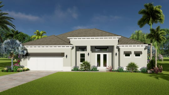 The Malibu offers three bedrooms and two bathrooms with 2,115 square feet of living space a total of 3,228 square feet.