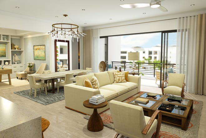 Two Phase I furnished models are available for purchase with a developer leaseback at Eleven Eleven Central.