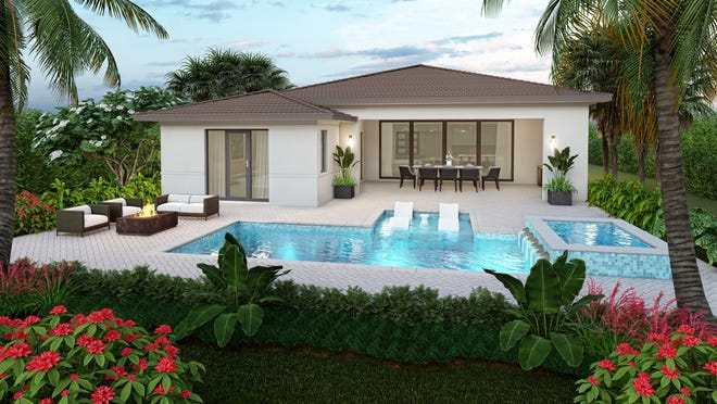 London Bay Homes has introduced a collection of new home design choices priced from the low-$900s in Cabreo and Lucarno at Mediterra.