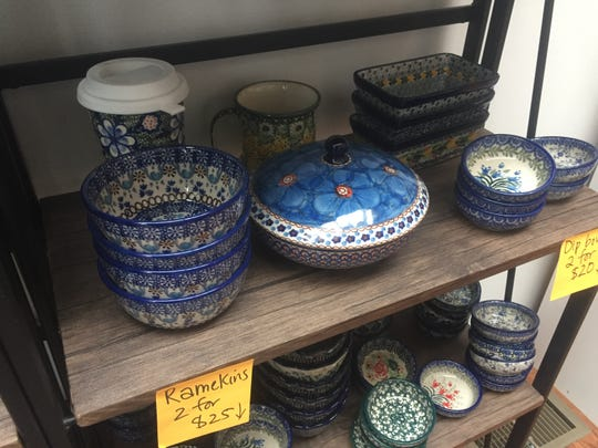 Polish Pottery is noted for intricate patterns and craftsmanship, as well as its durability.