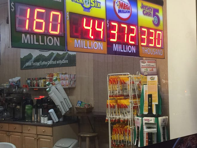 The Mega Millions jackpot for Tuesday, Dec. 17 was an estimated $372 million, while the Powerball is $160 million for Wednesday.