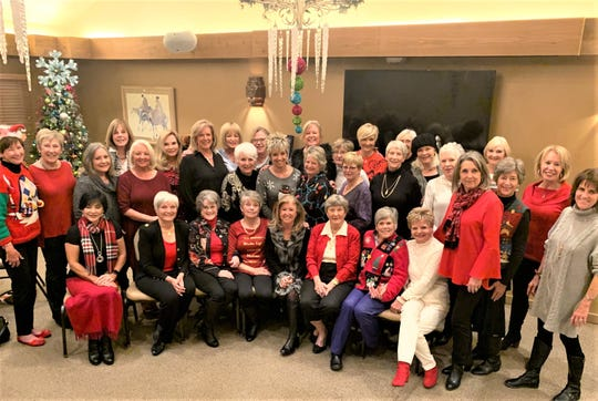the Alto Ladies Golf Association at their annual Christmas Brunch