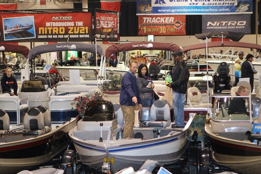 Boats will be for sale at the Ultimate Fishing Show in Novi.