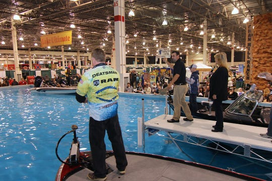 The Ultimate Fishing Show is coming to Novi.
