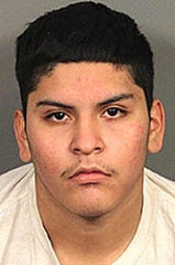Geronimo Nunez-Vasquez, 19, was arrested Tuesday by the Coachella Valley Violent Crime Gang Task Force.