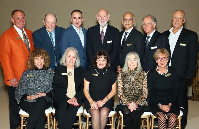 The JFS board comprises (back row) Bob Goodfriend, Jerry Morgan, Lee Erwin, Sandy Seplow, Oscar Armijo, Ed Cohen, Doran Veiner, (front row) Joanne Chunowitz, Nona S. Solowitz, Aviva Snow, Gail Scadron and Lois Gold.