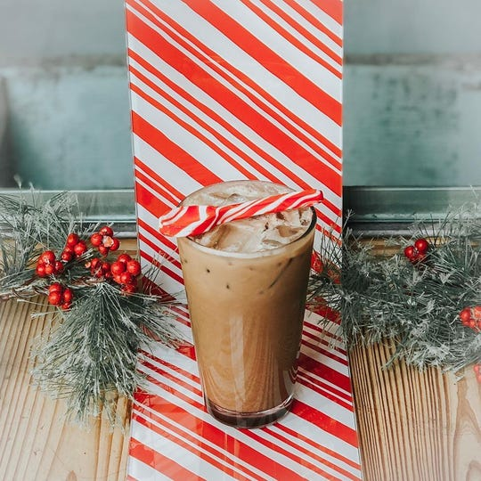 The Peppermint Mocha is available at Bodacious Shops is available until January.