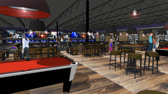 Mavrix will join Octane Entertainment's roster in Scottsdale in 2020, offering bowling, laser tag, billiards tables, a restaurant and bar.