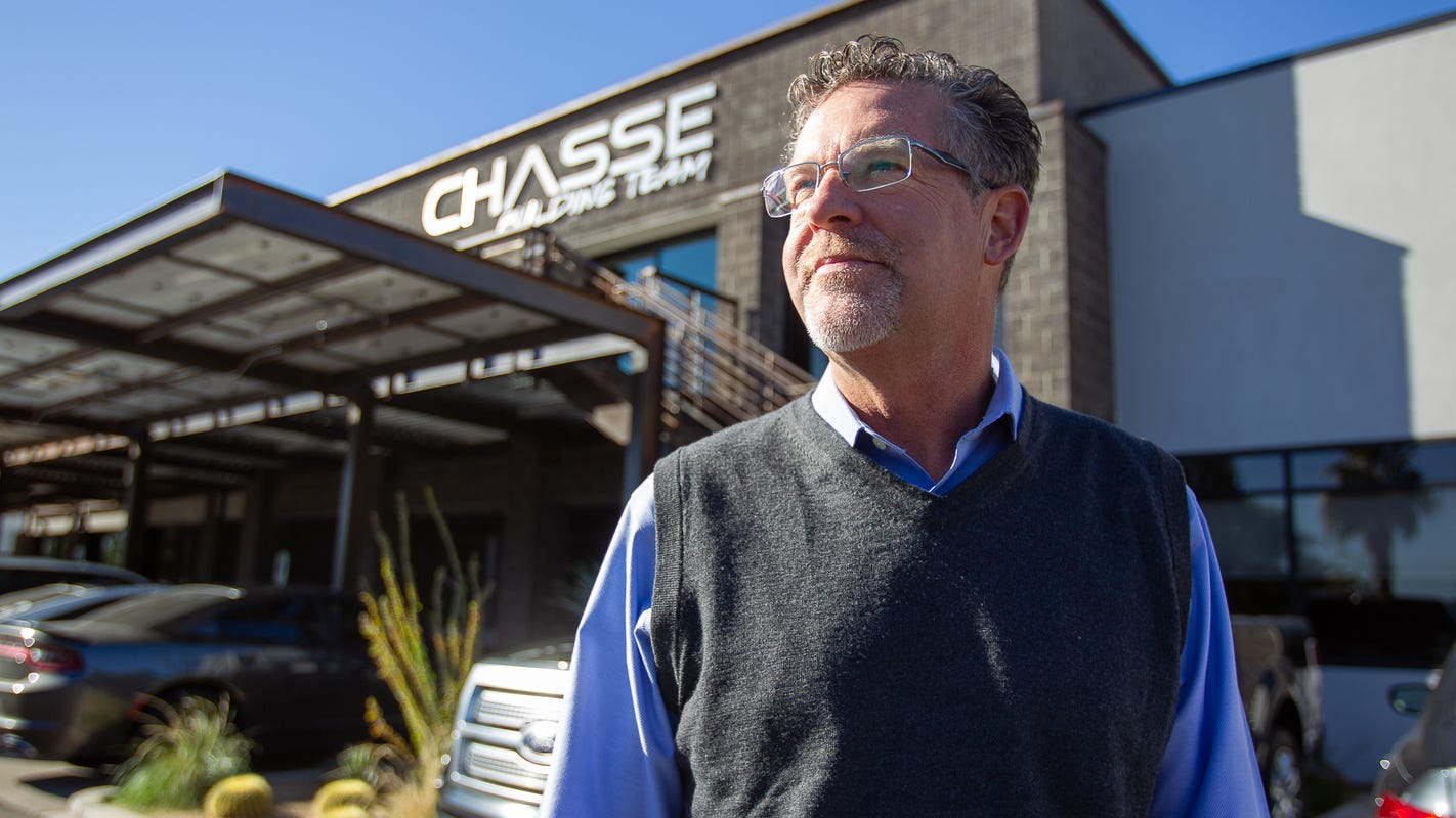 Chasse Building Team creates sustainable growth for a green business image
